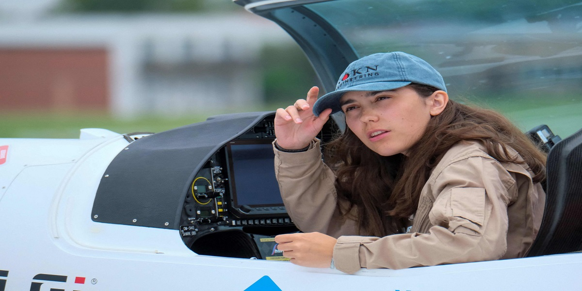 Zara Rutherford became the world's youngest woman to fly solo around the world