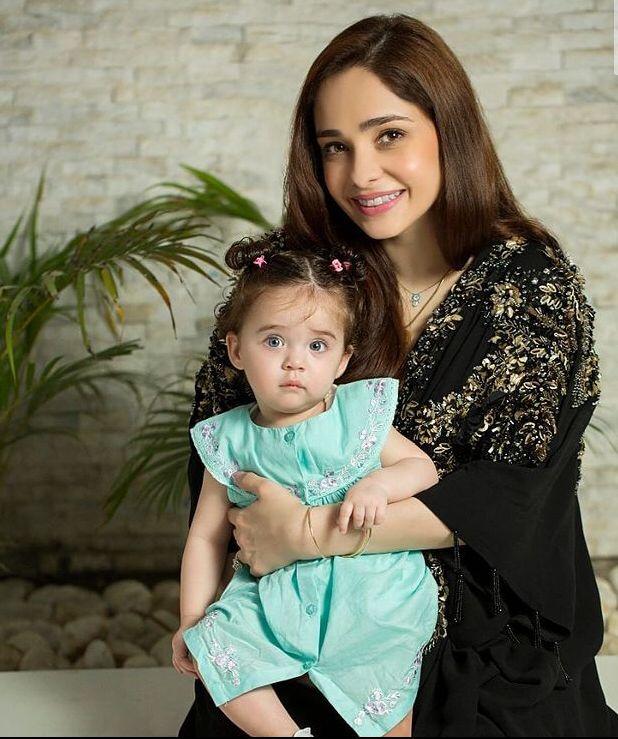 Baby Noor Bano and mom Juggun Kazim