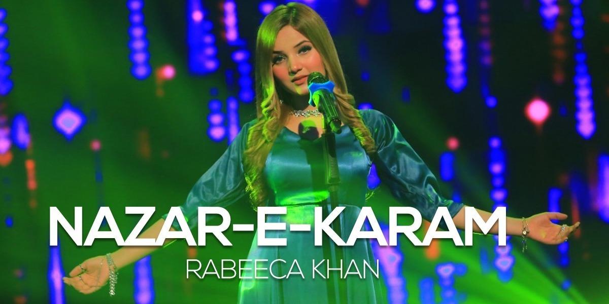 BOL Beats new song 'Nazar e Karam' by Rabeeca Khan is out now, watch video