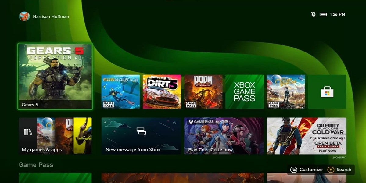 Xbox Series X will get a new 4k dashboard later this year