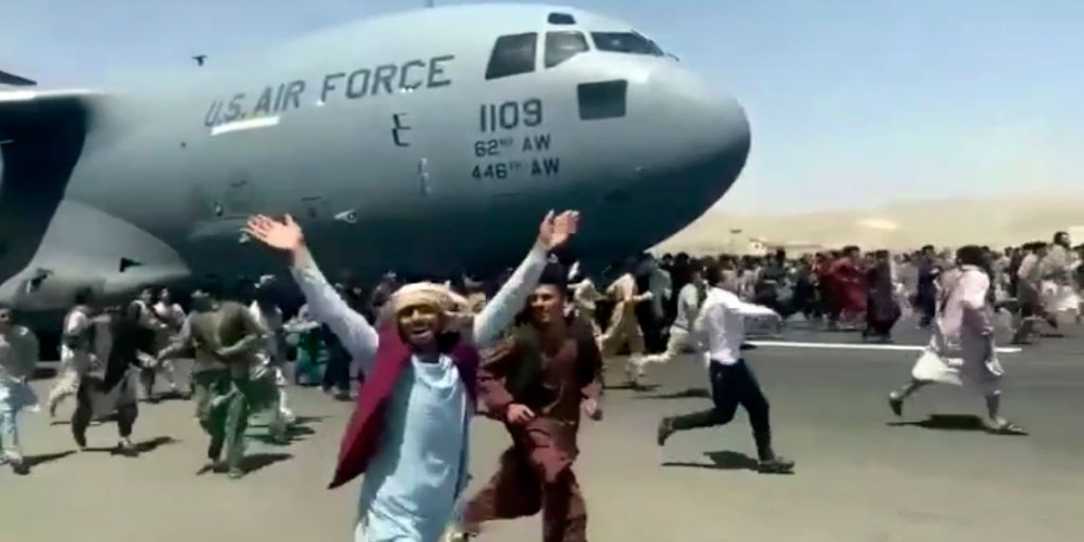 Human organs found from the wheels of American plane flying from Kabul