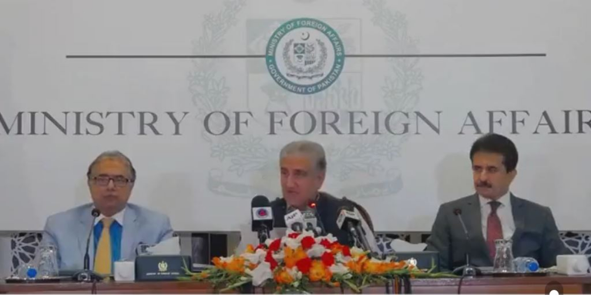Pakistan Cannot Be Held Responsible For Failures Of Others, Qureshi Categorically Tells
