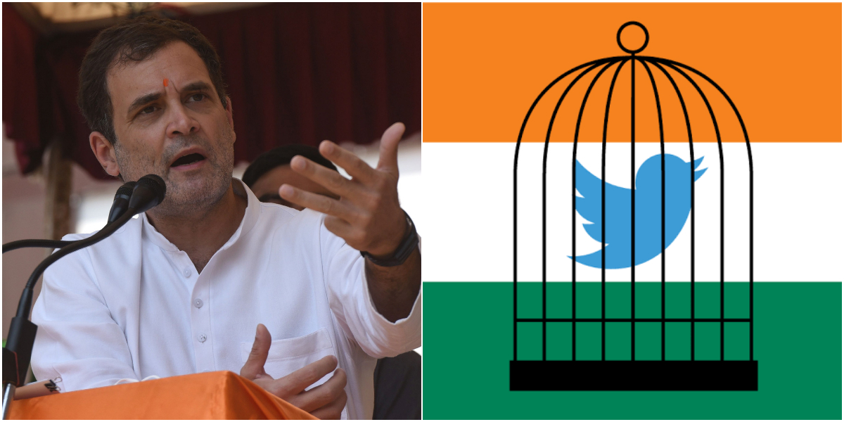 """India: Congress Twitter account blocked for """"violations of law"""""""