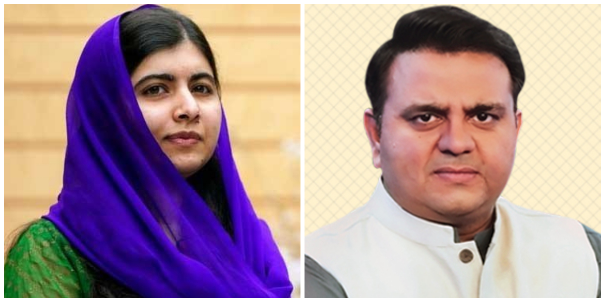 Malala calls Fawad Chaudhry to discuss global concerns over women's rights in Afghanistan