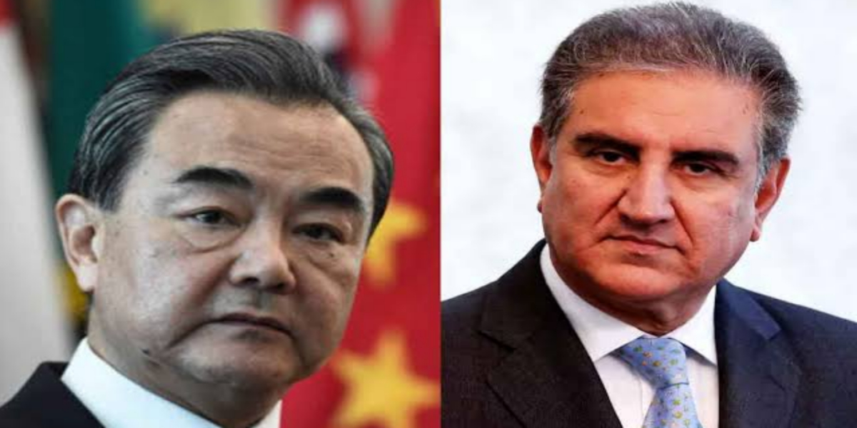 FM Qureshi, Wang Yi discuss situation in Afghanistan after Taliban's takeover