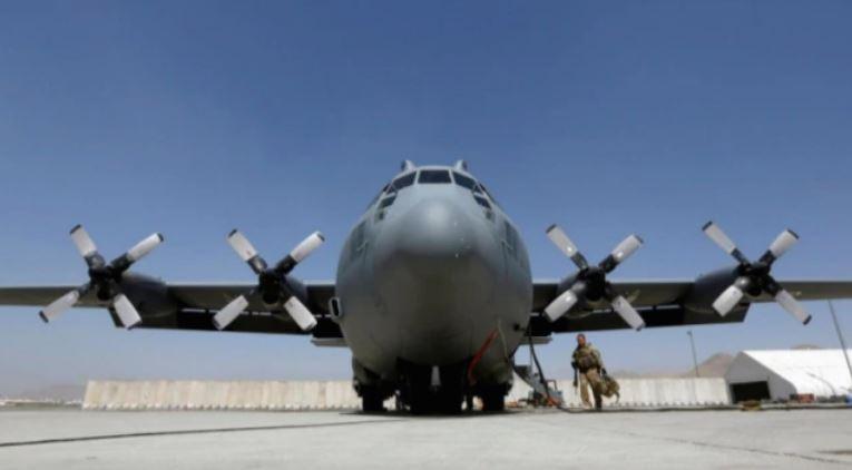 afghan military plane