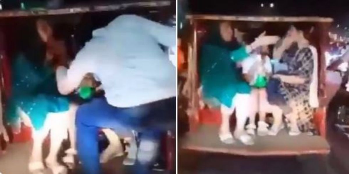 Another incident in Lahore, Man molests girl sitting in Qingqi rickshaw