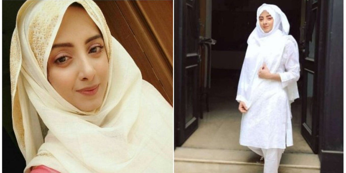 Netizens hail Sanam Chaudhry for 'returning to Allah'