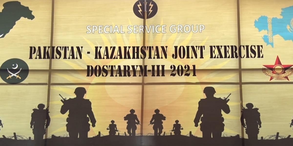"Pakistan-Kazakhstan Joint Military Exercise ""Dostarym III"" begin today"