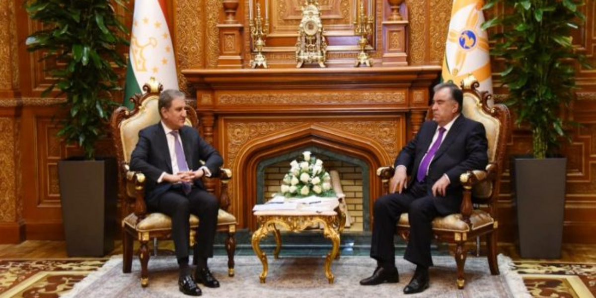 FM's four-nation visit: Tajik President briefed on Pakistan's position on Afghanistan crisis