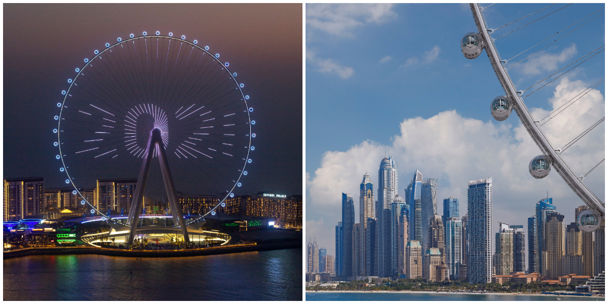 Get ready to take sky-high view of Dubai from world's tallest observation wheel