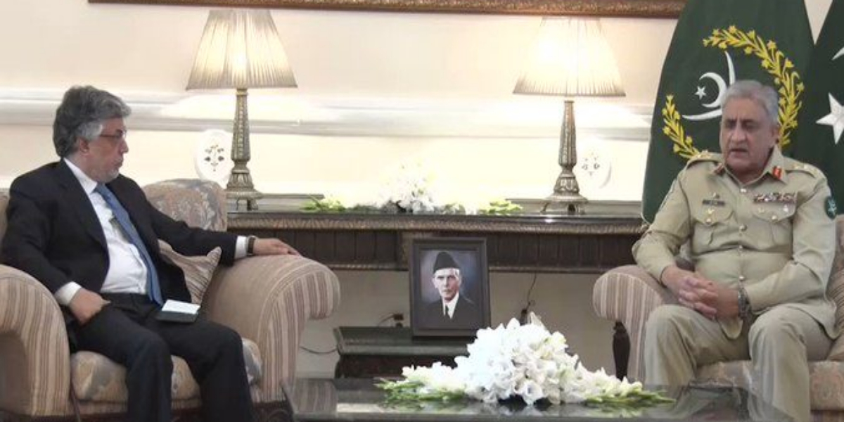 Pakistan seeks broad-based relations with Afghanistan and stands with Afghan people: COAS