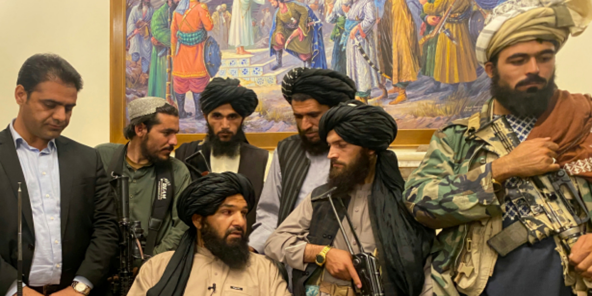 Taliban in possession of Kabul's airport after the US withdrawal