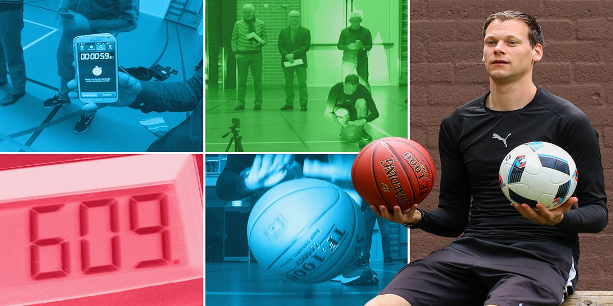 Irish guy bounces two basketballs 729 times in one minute