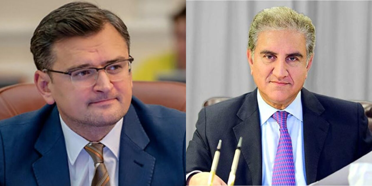 Foreign Minister Qureshi Ukrainian counterpart