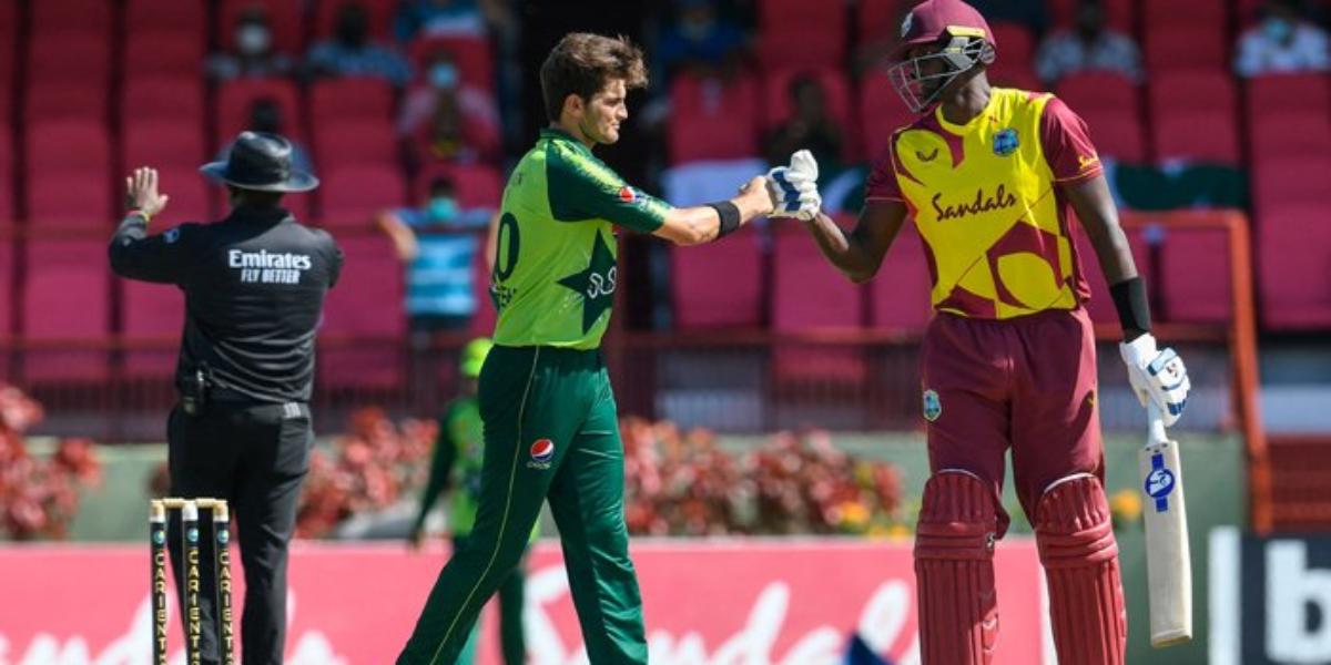 Pakistan West Indies second T20I