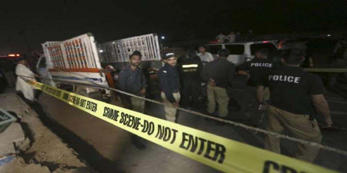 Karachi Explosion Baldia Town