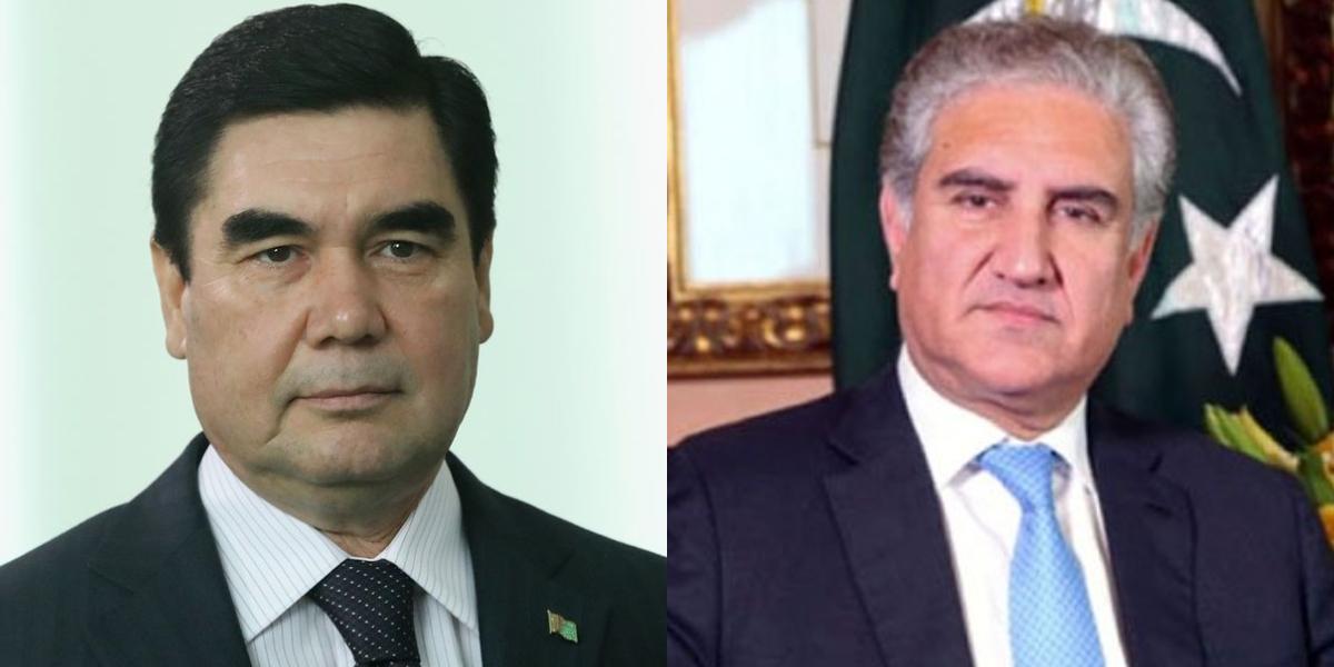 FM Qureshi calls on President of Turkmenistan