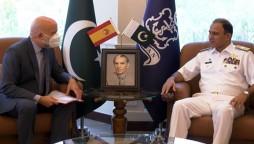 CNS Niazi Meets Spanish envoy