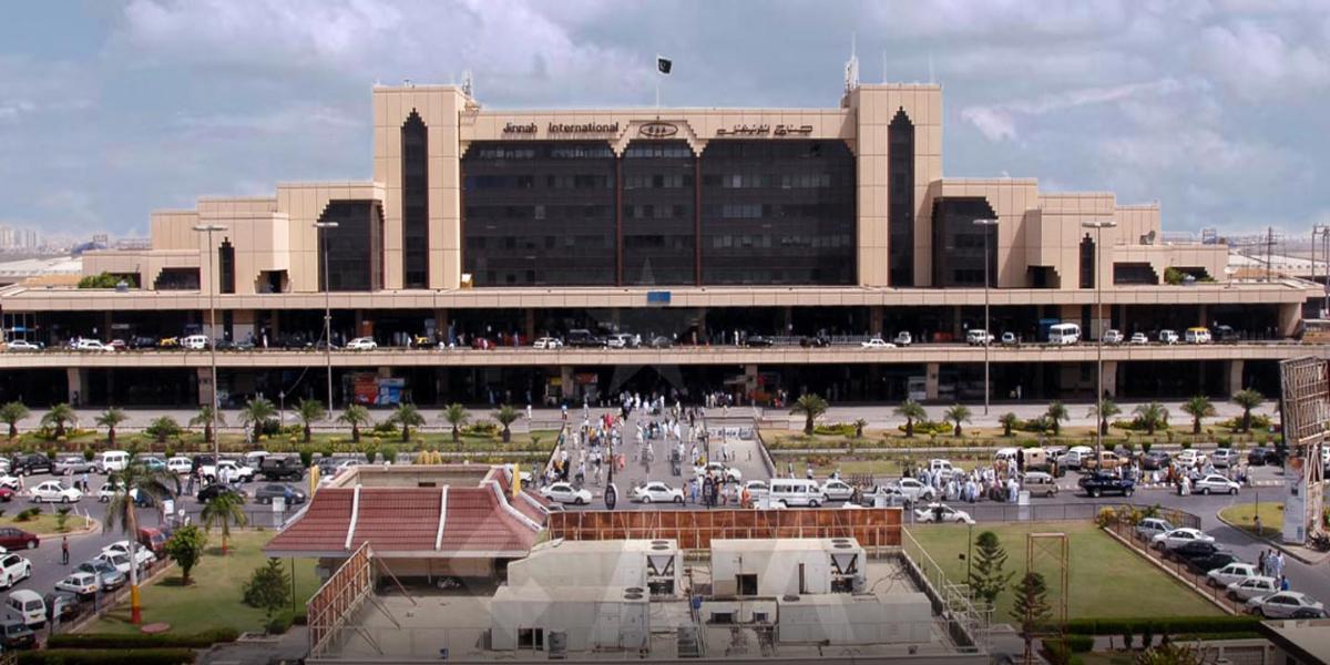 PCAA Karachi airport PCR test