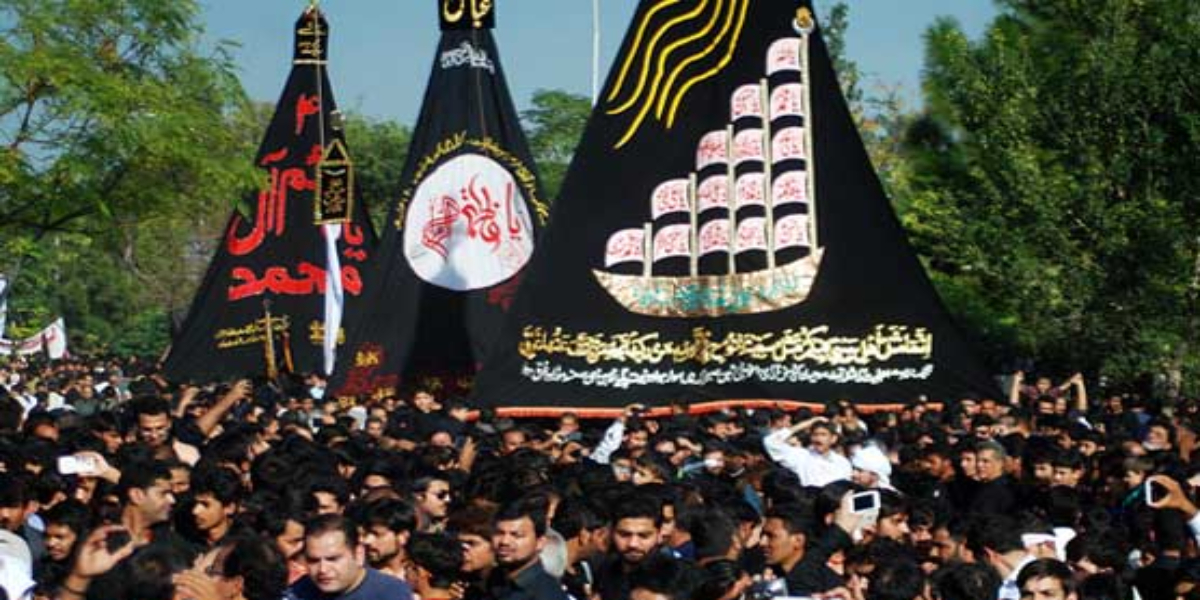 Muharram processions traffic plan