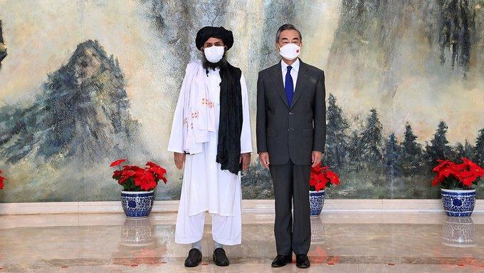 taliban and china
