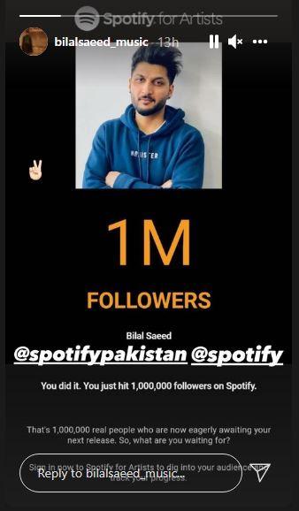 Bilal Saeed Spotify