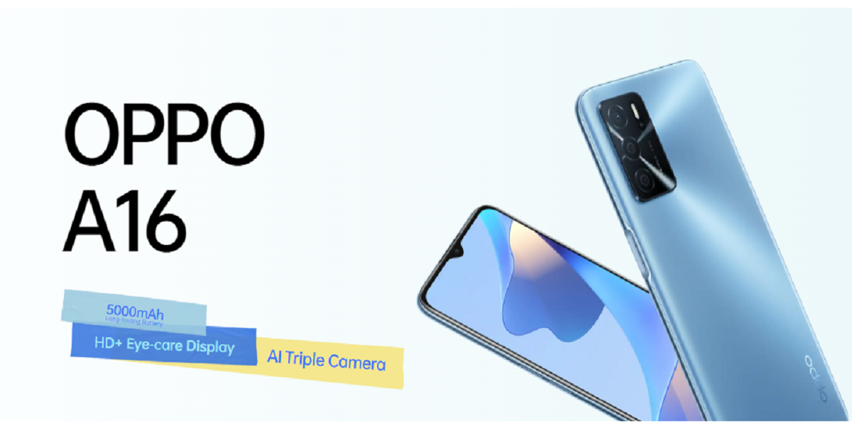 OPPO A16 launches in Pakistan with long-lasting battery