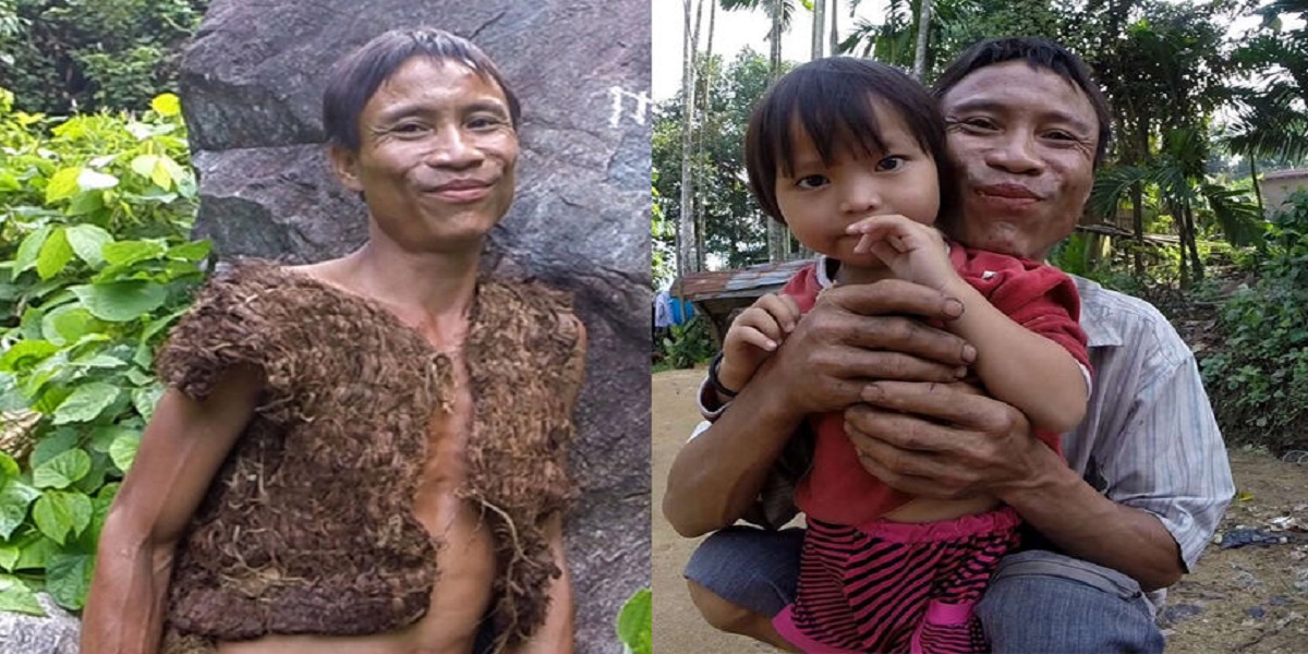 Real Tarzan Ho Vah Lang spent 40 years in the forest