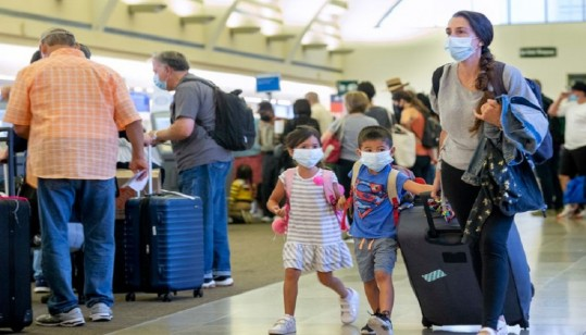 White House is considering reopening to vaccinated international travelers
