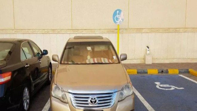 3145 Violations of Parking for Persons with Disabilities