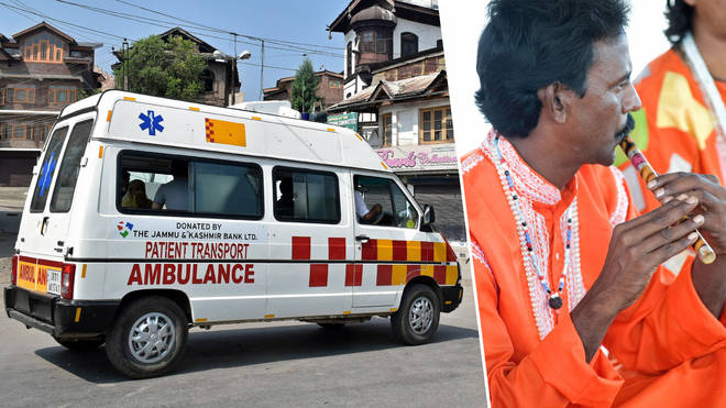 replace ambulance sirens with traditional flute music