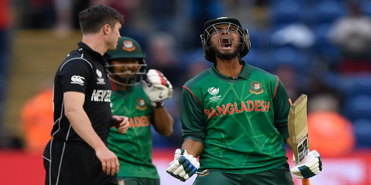 Bangladesh beat New Zealand by 7 wickets in 1st T20