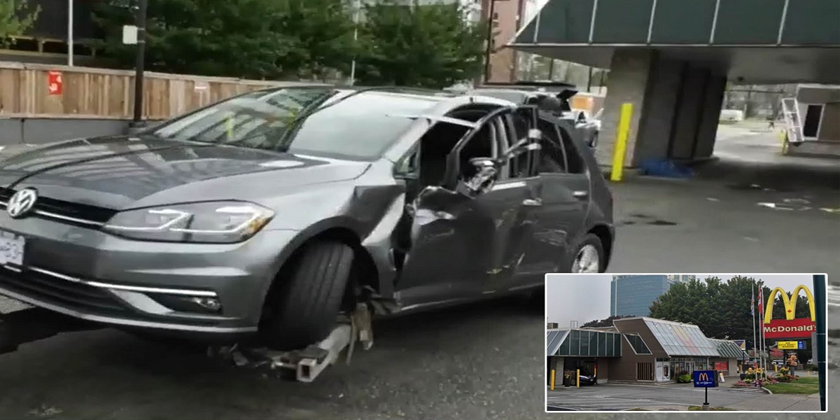 Man Dies After Getting Pinned by His Own Car in Freak Accident at McDonald's Drive-Thru