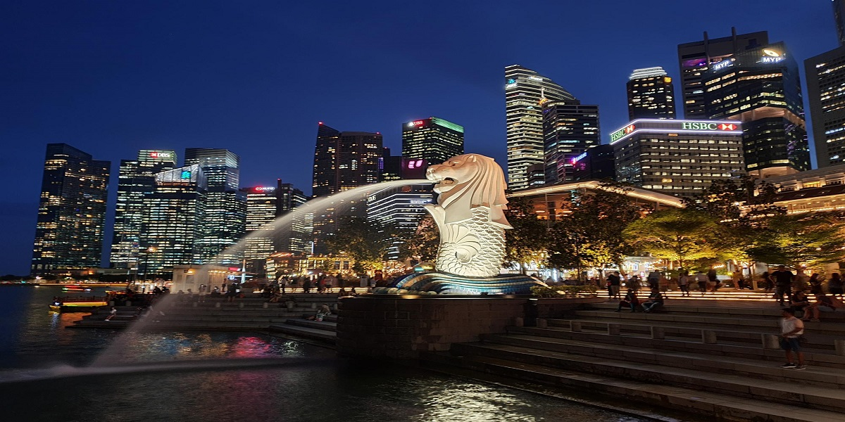 Singapore is slowly reopening as vaccination rates exceed 80%.