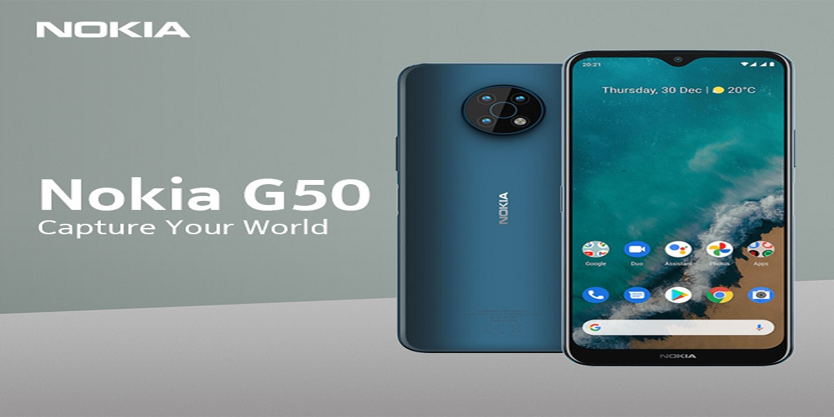 Nokia G50 5G leak features high-end images and specifications