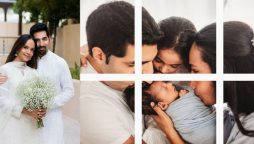 Aamina Sheikh baby boy