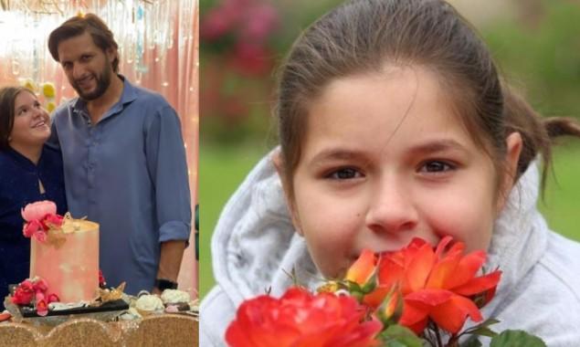 Shahid Afridi daughter Ajwa's birthday