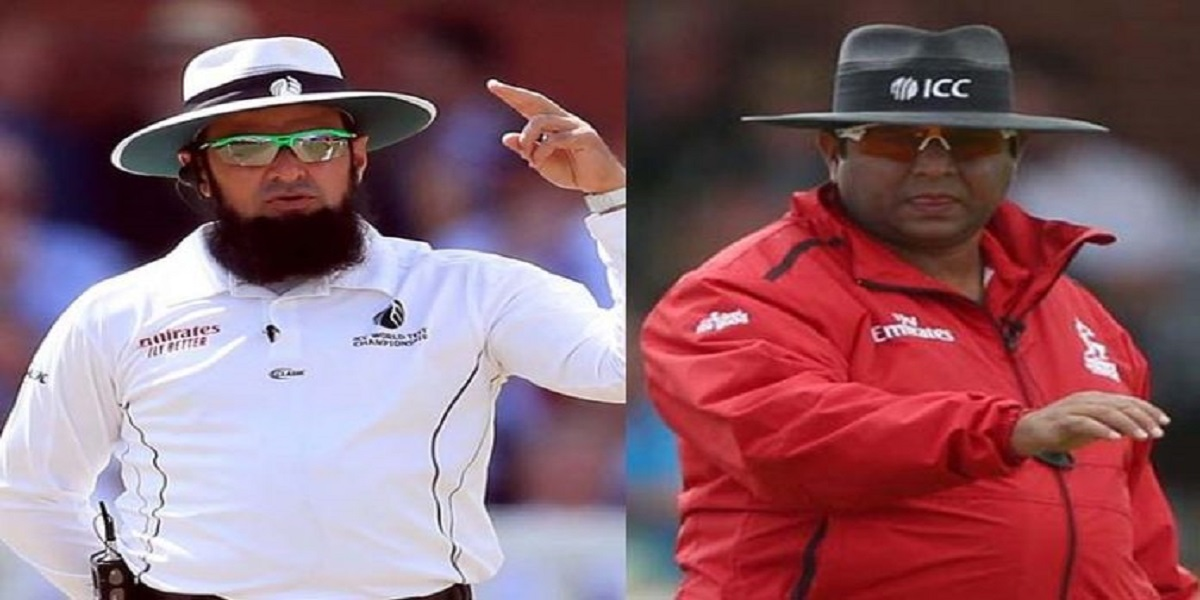 Aleem and Ahsan will be on-field umpires during PAK vs. NZ ODIs