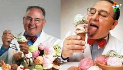 Ice cream man whose taste buds are insured for $1m
