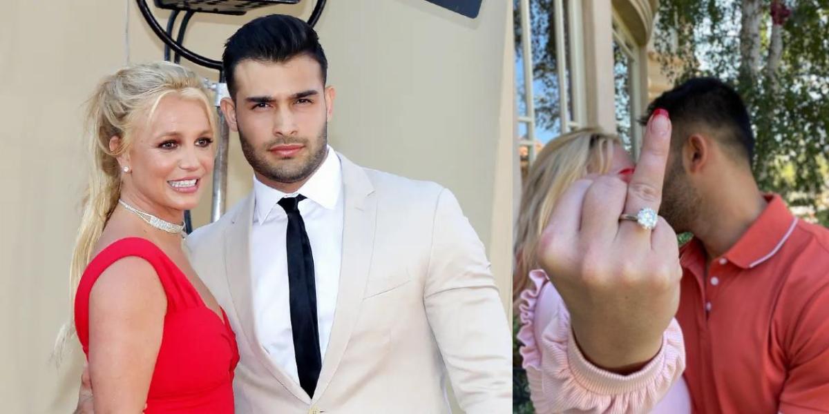 Britney Spears Sam Asghari engagement