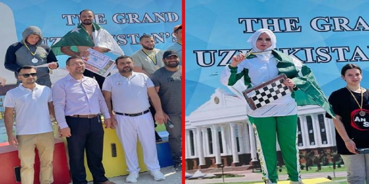 Pakistani athletes wins four Golds in International Cultural Festival Romania