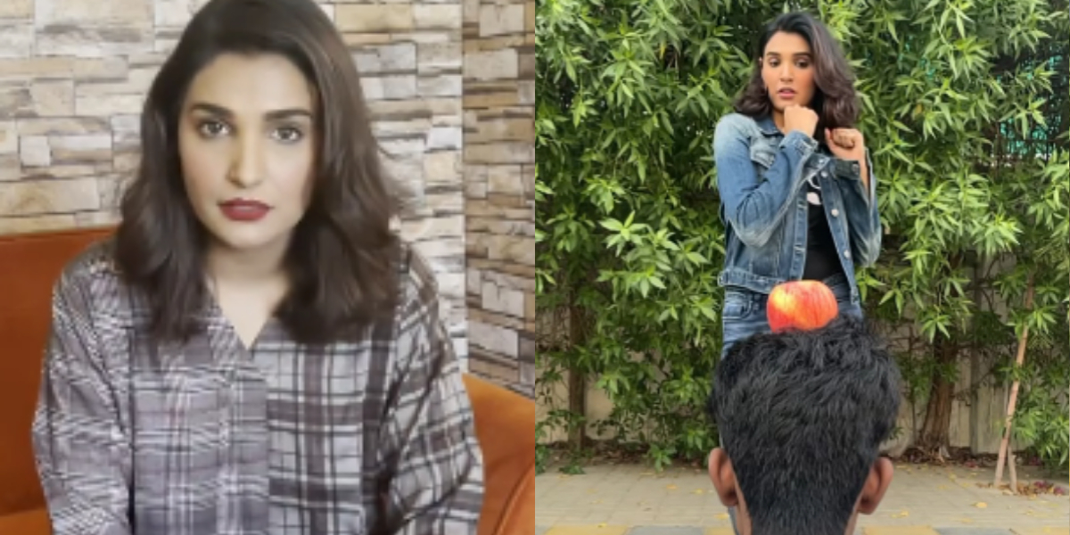 Amna Ilyas issues an apology