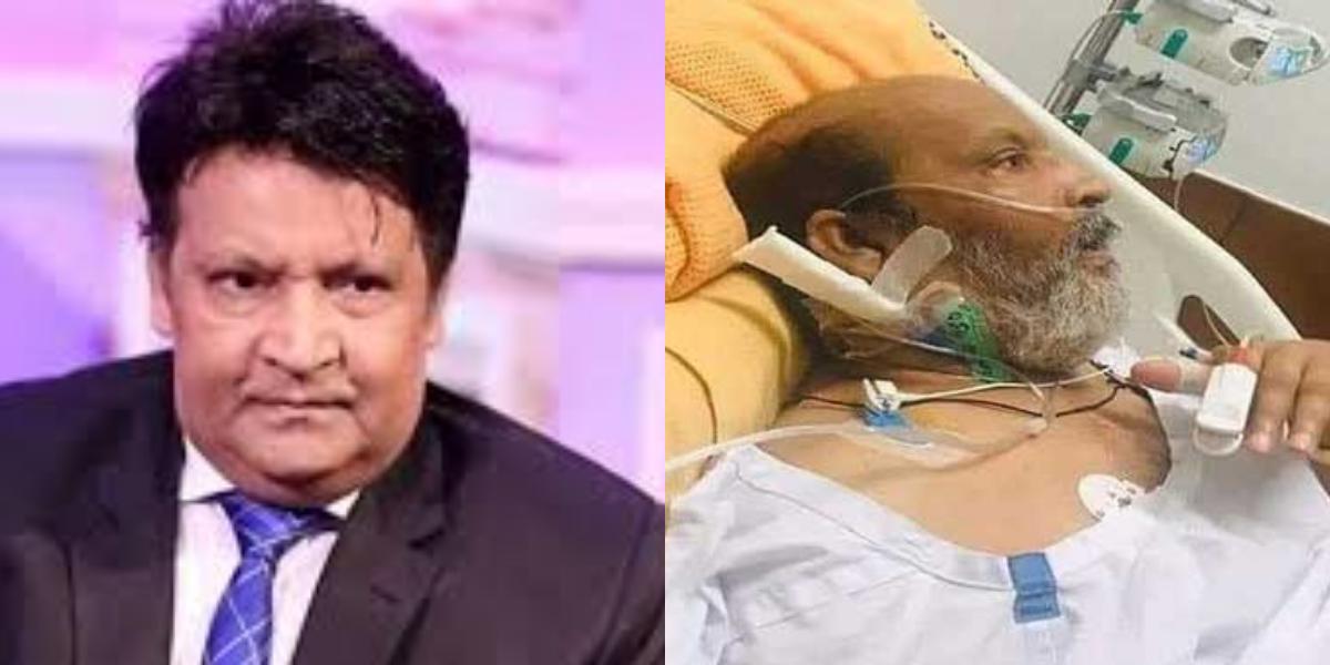 Umer Sharif's treatment