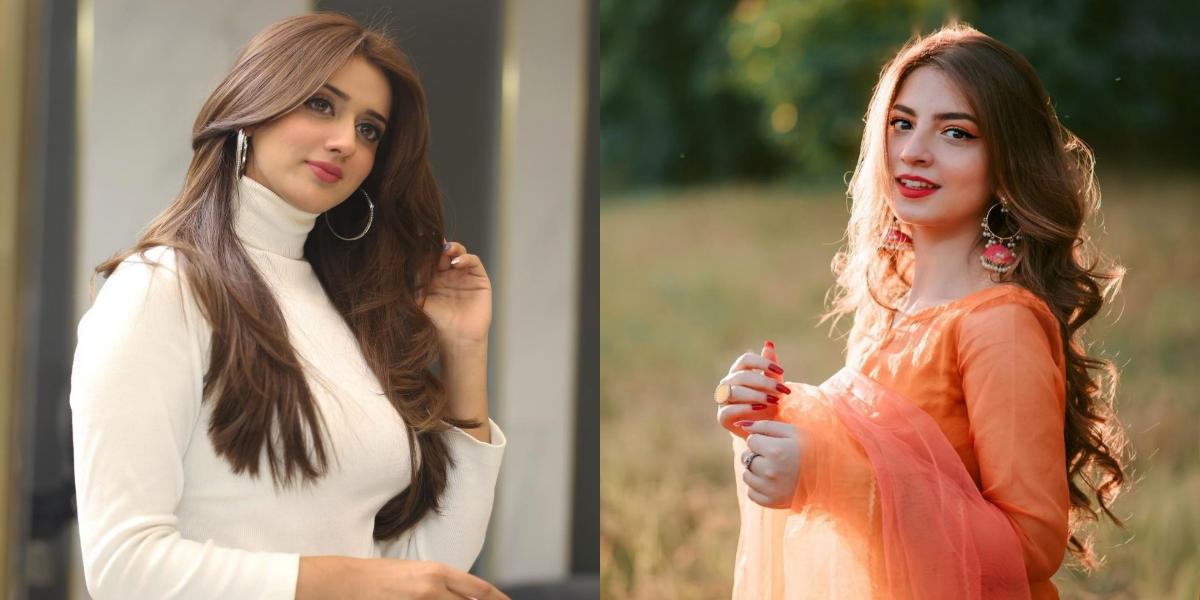 Jannat Mirza and Dananeer Mobeen
