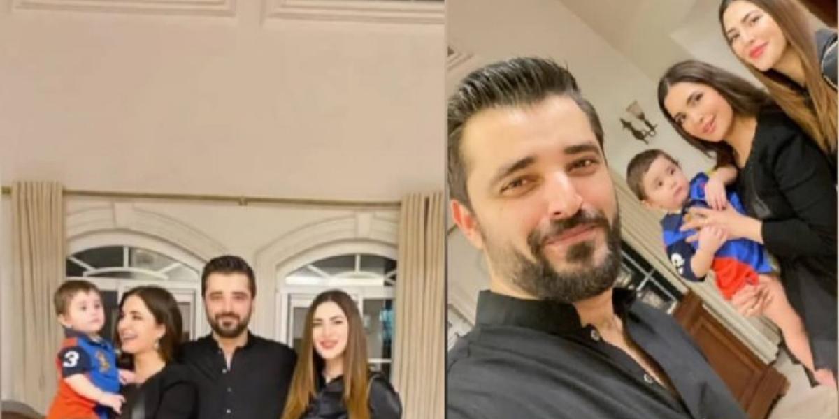 Naimal Khawar and Hamza Ali Abbasi