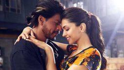 Shah Rukh Khan and Deepika Padukon