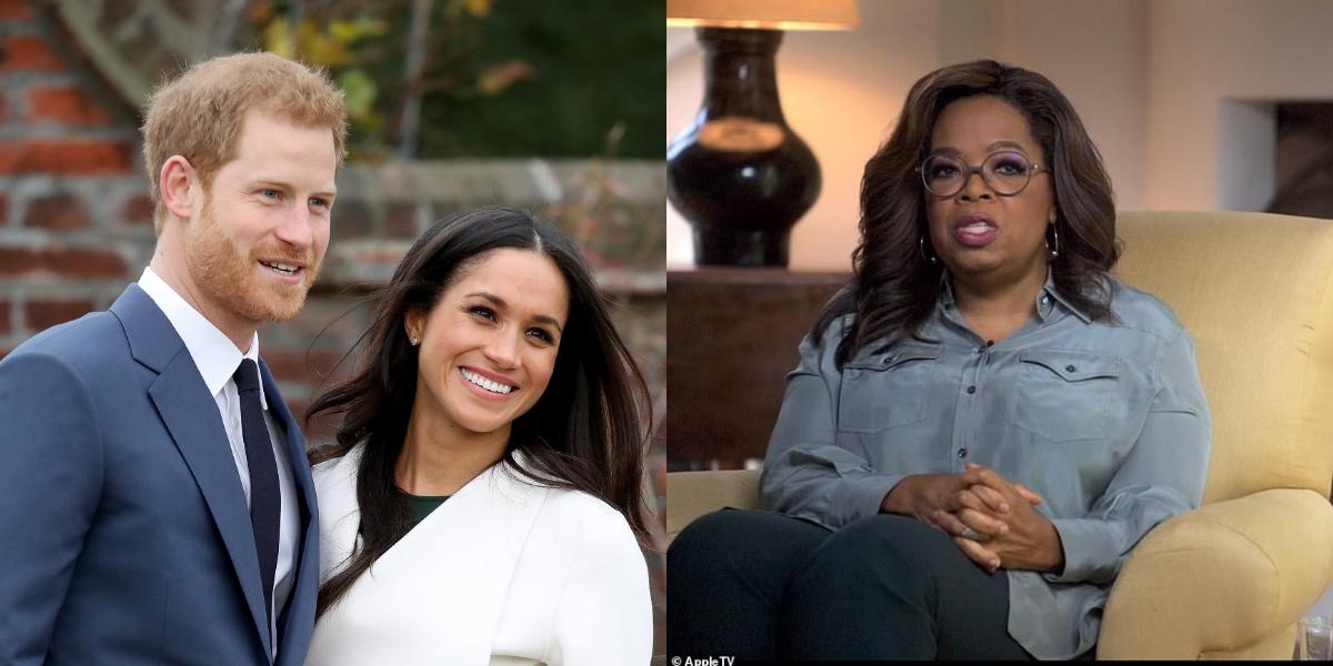 Oprah,Harry And Meghan