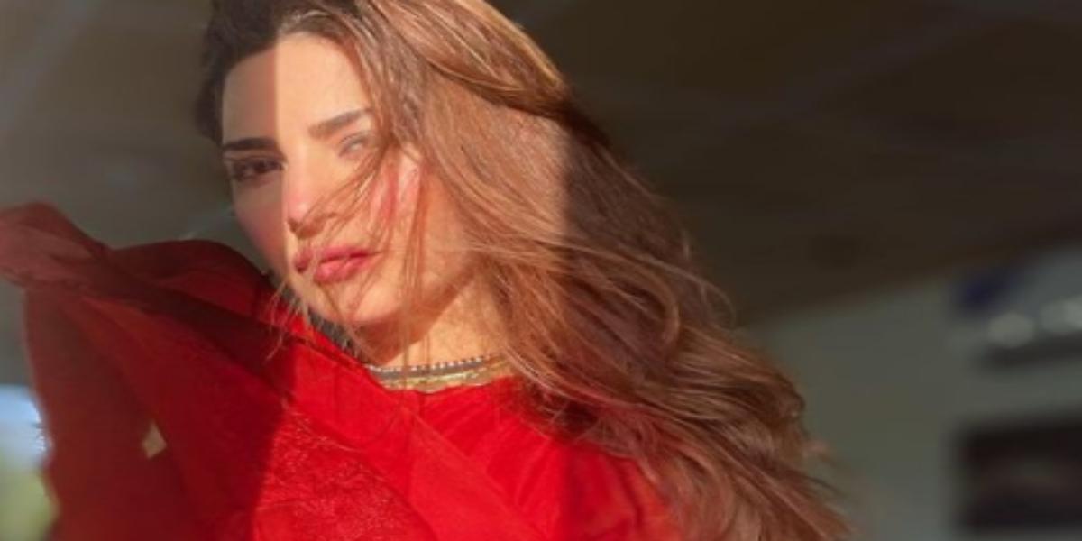 Naimal red dress