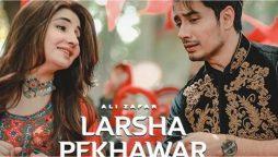 Ali Zafar's new Pashto song 'Larsha Pekhawar'